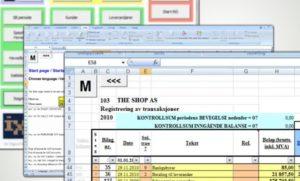 Føre regnskap selv i Excel, med iExcel.